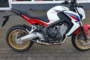 Honda CB650F Umbau anzeigen