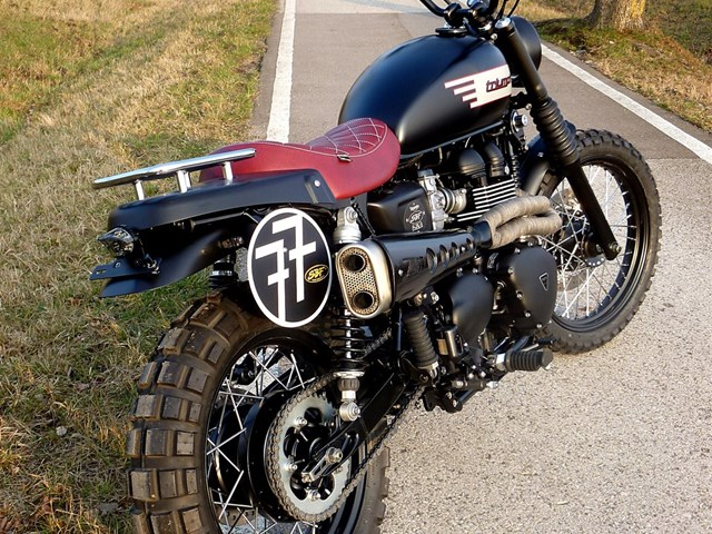 details on the custom bike triumph scrambler of dealer. Black Bedroom Furniture Sets. Home Design Ideas
