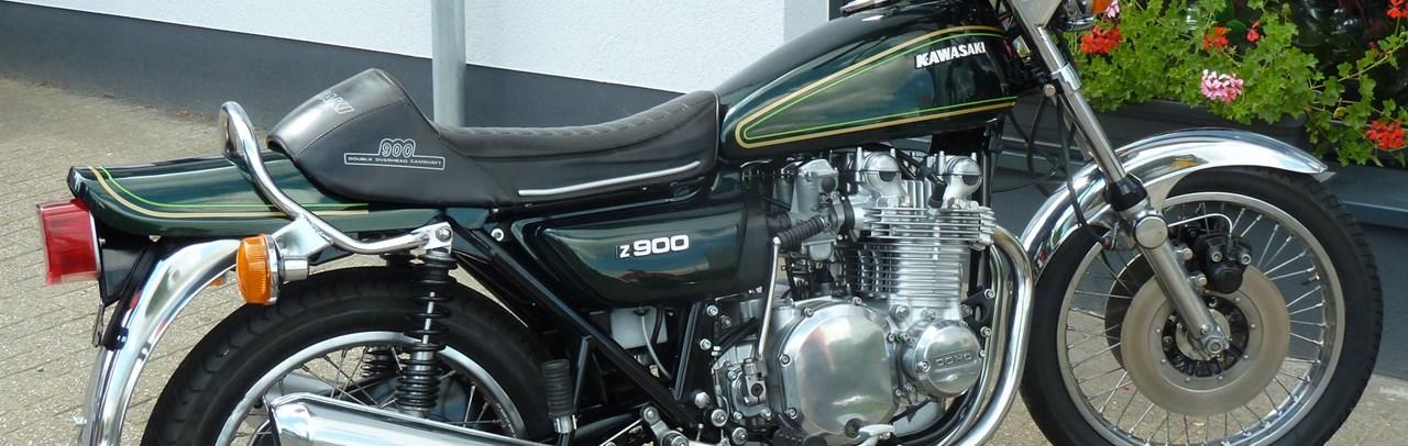 umgebautes motorrad kawasaki z900 von zweirad schneider. Black Bedroom Furniture Sets. Home Design Ideas