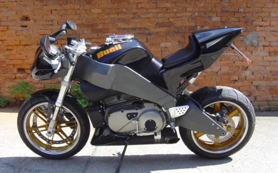Umgebautes Motorrad Buell Lightning XB 12 S von LIttlewood