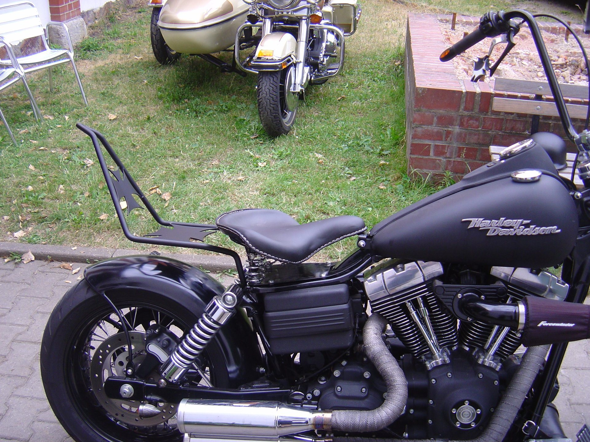 umgebautes motorrad harley davidson dyna super glide fxd von wild east motorcycles inh dirk. Black Bedroom Furniture Sets. Home Design Ideas