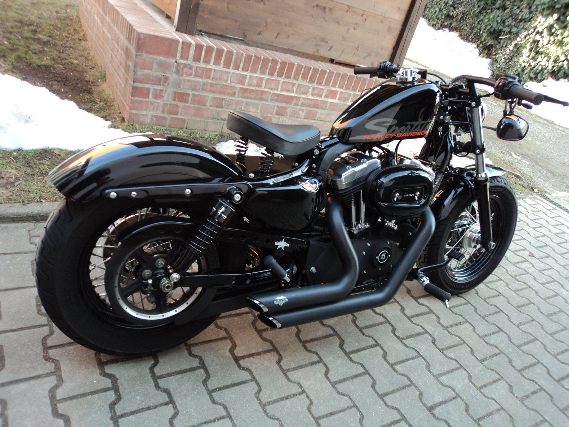 umgebautes motorrad harley davidson sportster custom 53 von wild east motorcycles inh dirk. Black Bedroom Furniture Sets. Home Design Ideas