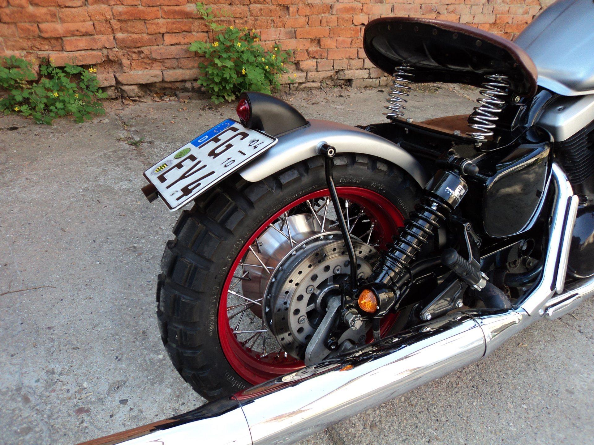 Umgebautes Motorrad Kawasaki D Tracker 125 Von Wild East Motorcycles New Inh Dirk Leuteritz