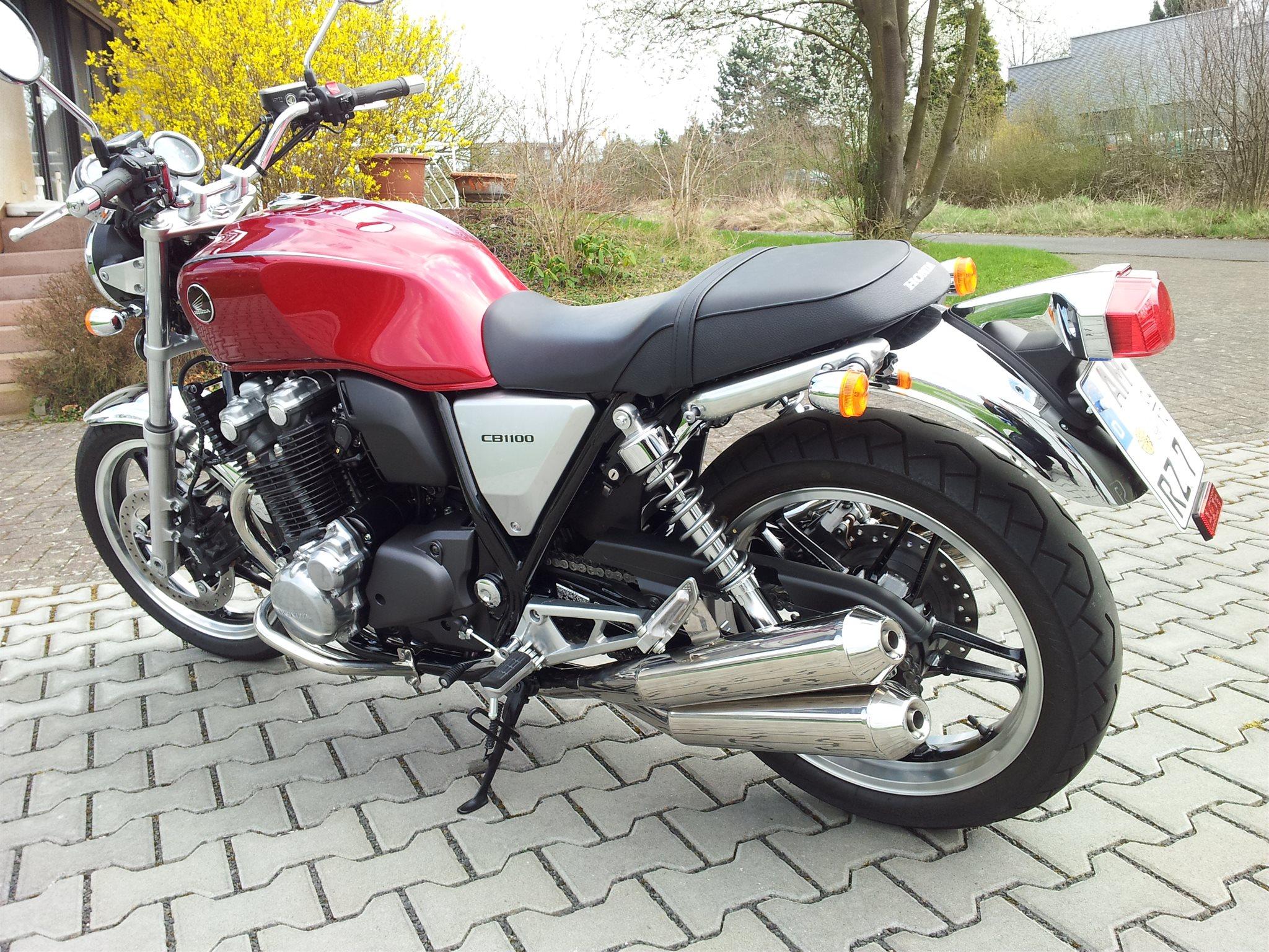 Umgebautes Motorrad Honda CB 1100 Von Wagner