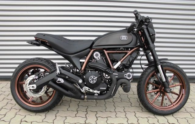 Ducati Scrambler Full Throttle Umbau