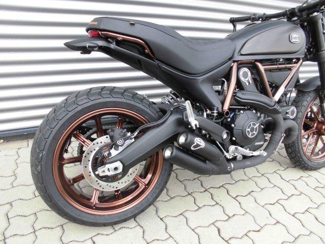 Ducati Scrambler Sitzbank Motorrad Bild Idee