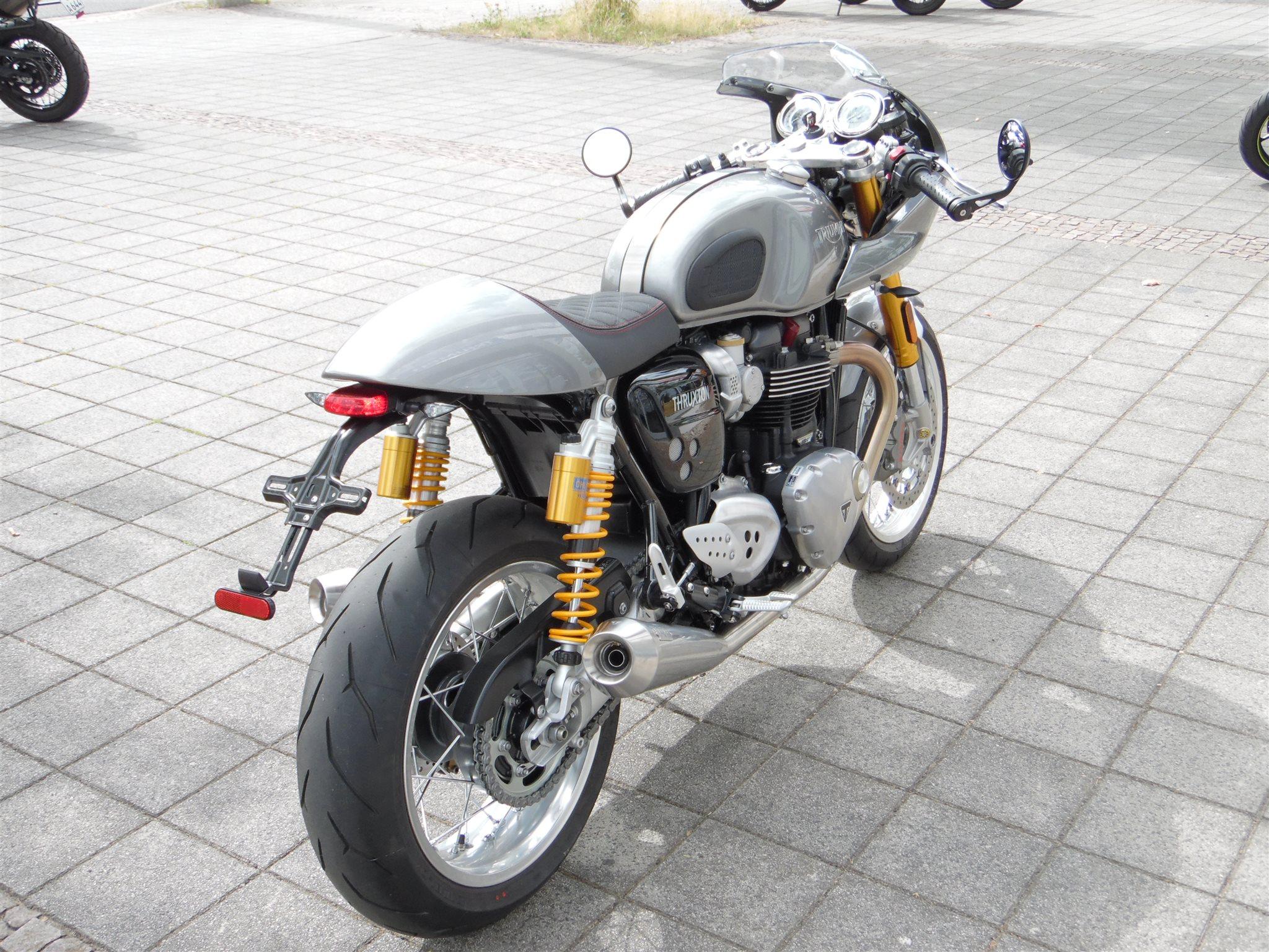 umgebautes motorrad triumph thruxton 1200r von kehl klingenberger gbr. Black Bedroom Furniture Sets. Home Design Ideas