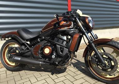 Kawasaki Vulcan S Motorrad Umbauten 1000psde