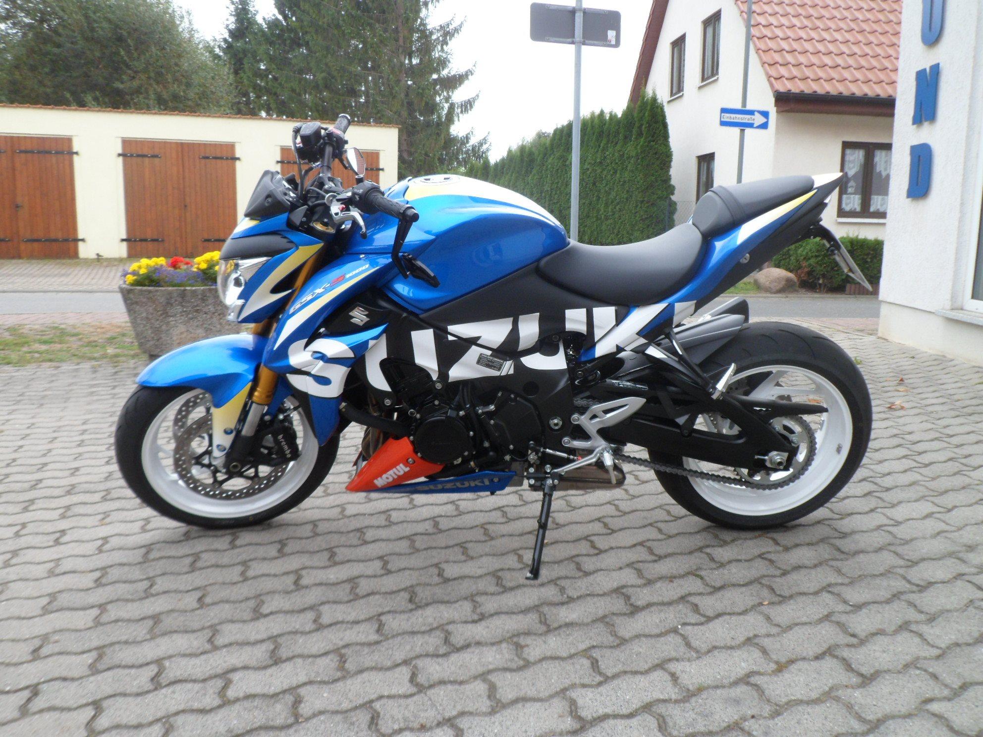 umgebautes motorrad suzuki gsx s 1000 motogp von motorrad wasmund gmbh. Black Bedroom Furniture Sets. Home Design Ideas
