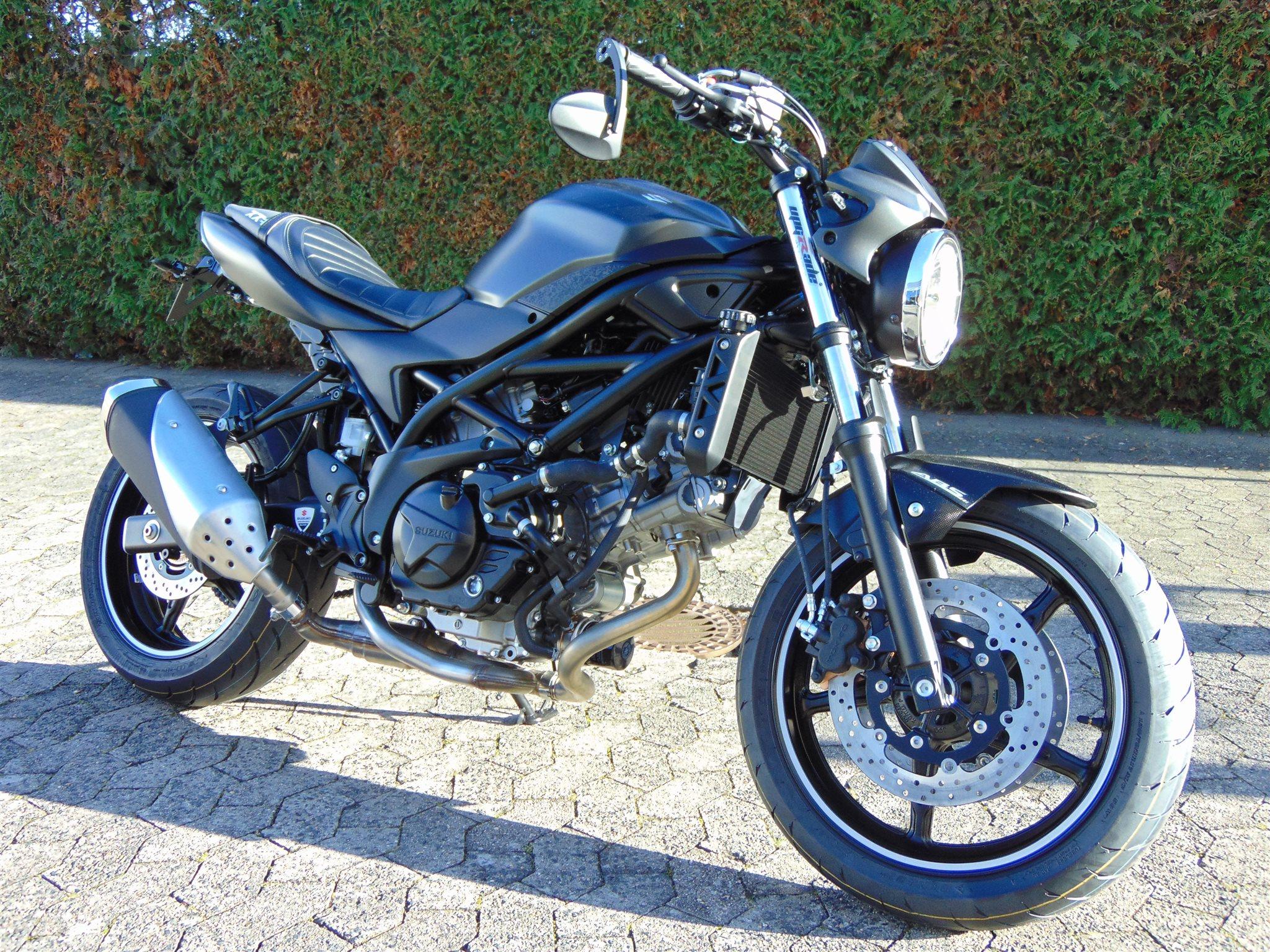 umgebautes motorrad suzuki sv 650 von zweirad shop wagner e k