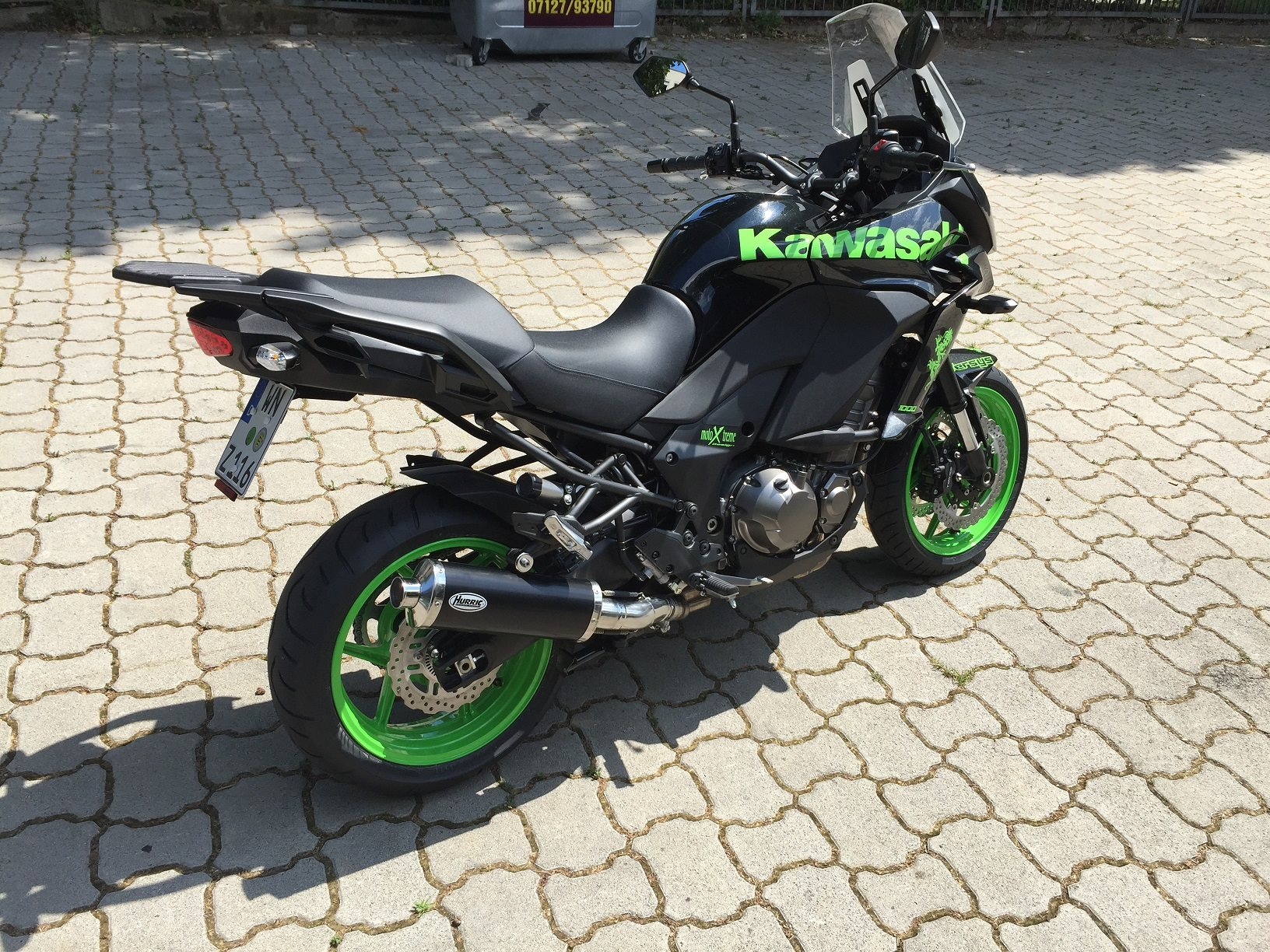umgebautes motorrad kawasaki versys 1000 von motoxtreme gmbh. Black Bedroom Furniture Sets. Home Design Ideas