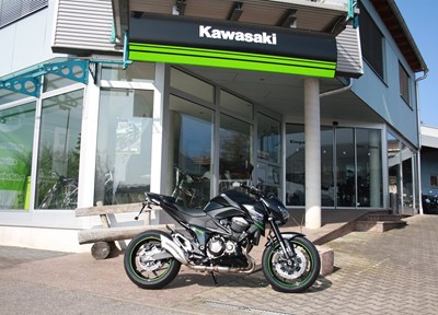 Kawasaki Z 800 Ein wenig umgebaut