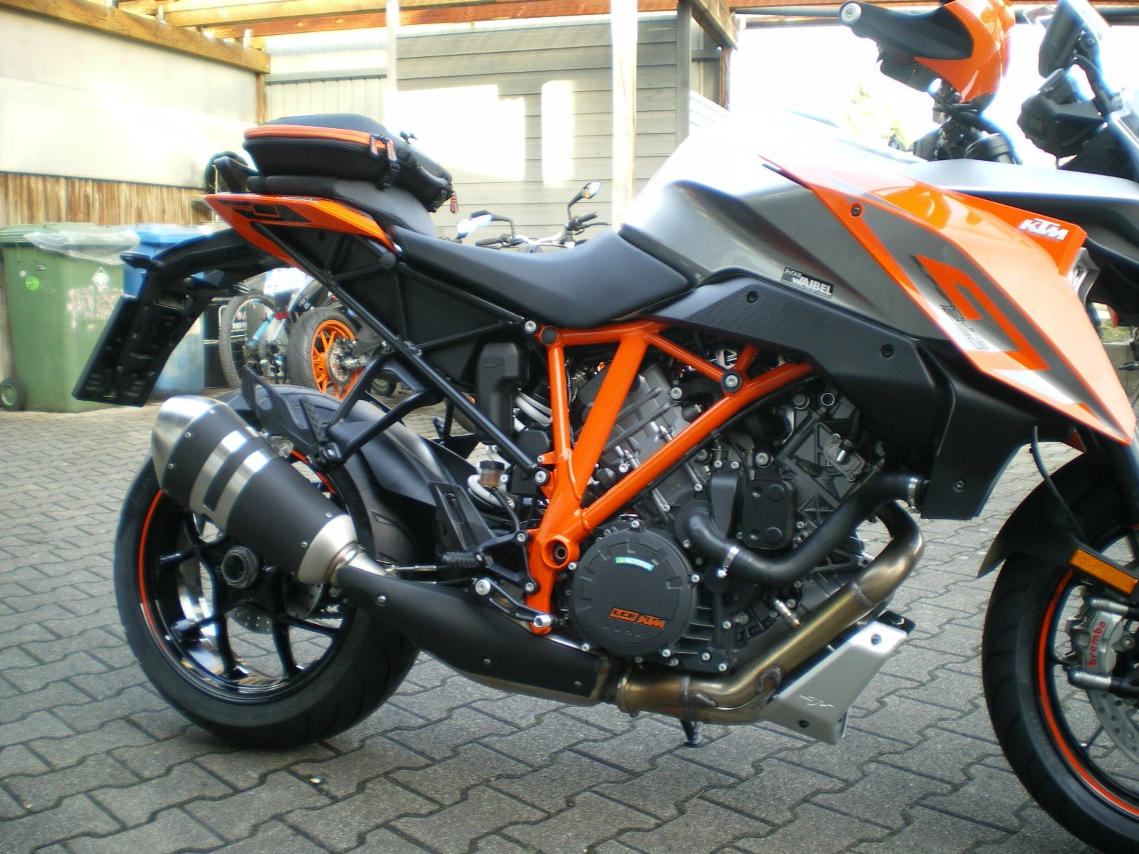 umgebautes motorrad ktm 1290 super duke gt von zweirad waibel gmbh co kg. Black Bedroom Furniture Sets. Home Design Ideas
