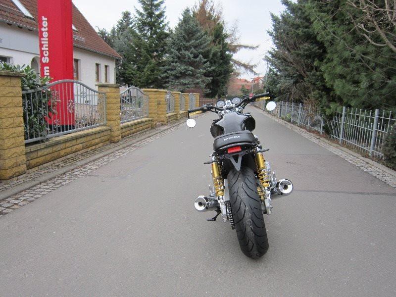 Details Zum Custom Bike Honda CB 1100 R Des Handlers Zweiradtechnik
