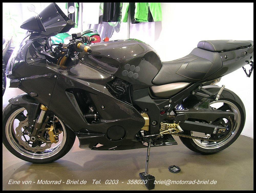 umgebautes motorrad kawasaki zx 12r ninja von motorrad. Black Bedroom Furniture Sets. Home Design Ideas