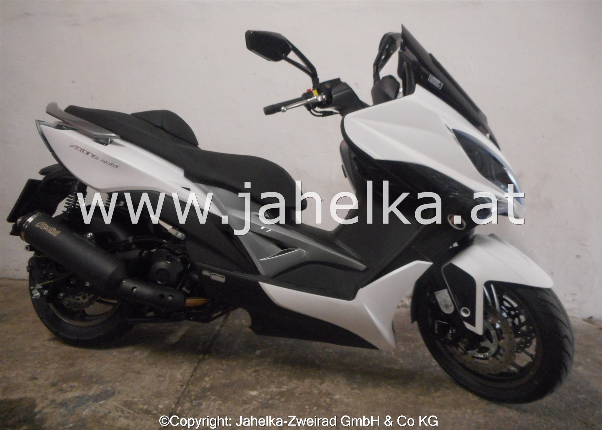 Kymco Xciting 400i ABS  EDIZIONE POLINI by JAHELKA Foto
