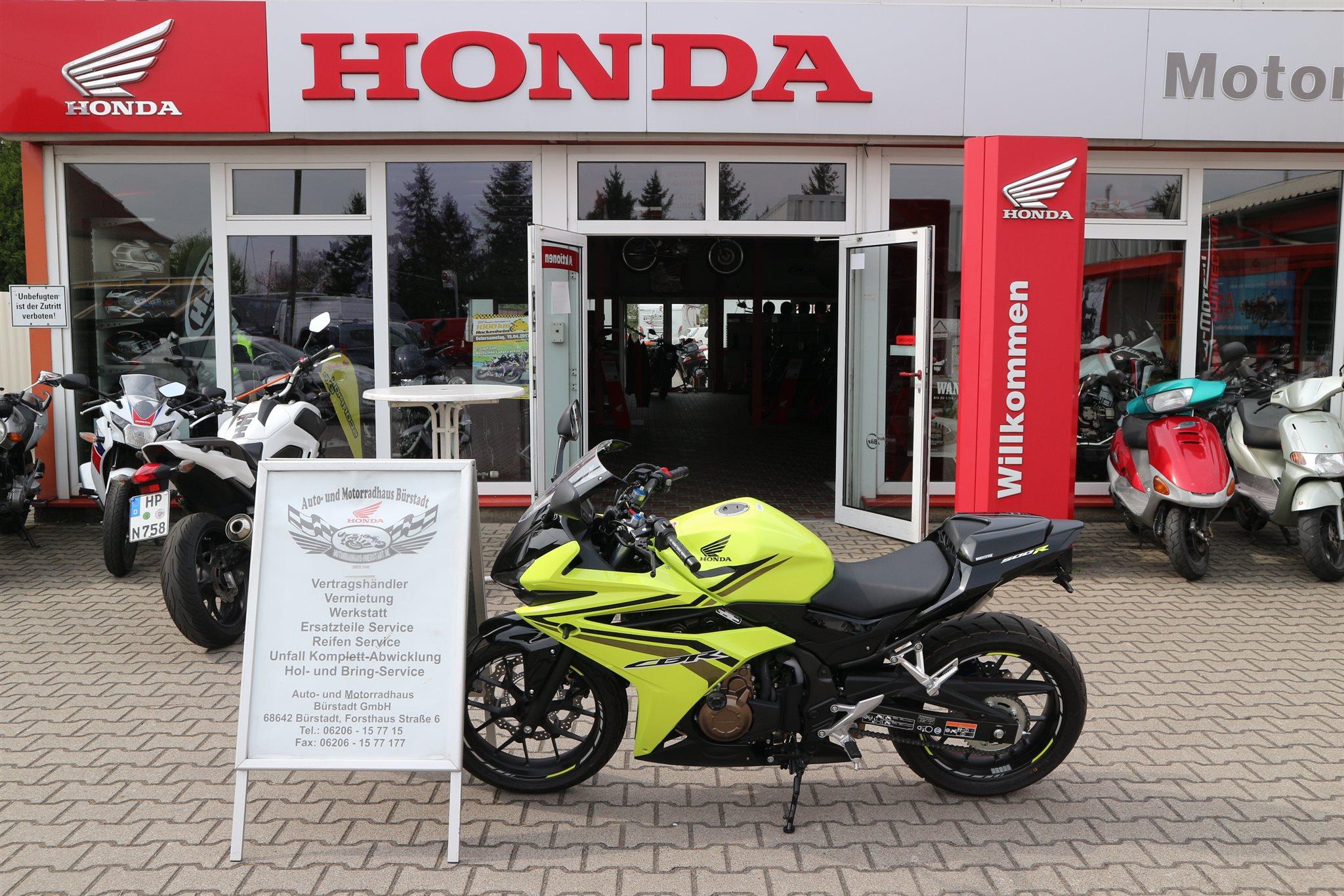 Umgebautes Motorrad Honda CBR 500 R von Auto-und Motorradhaus ...