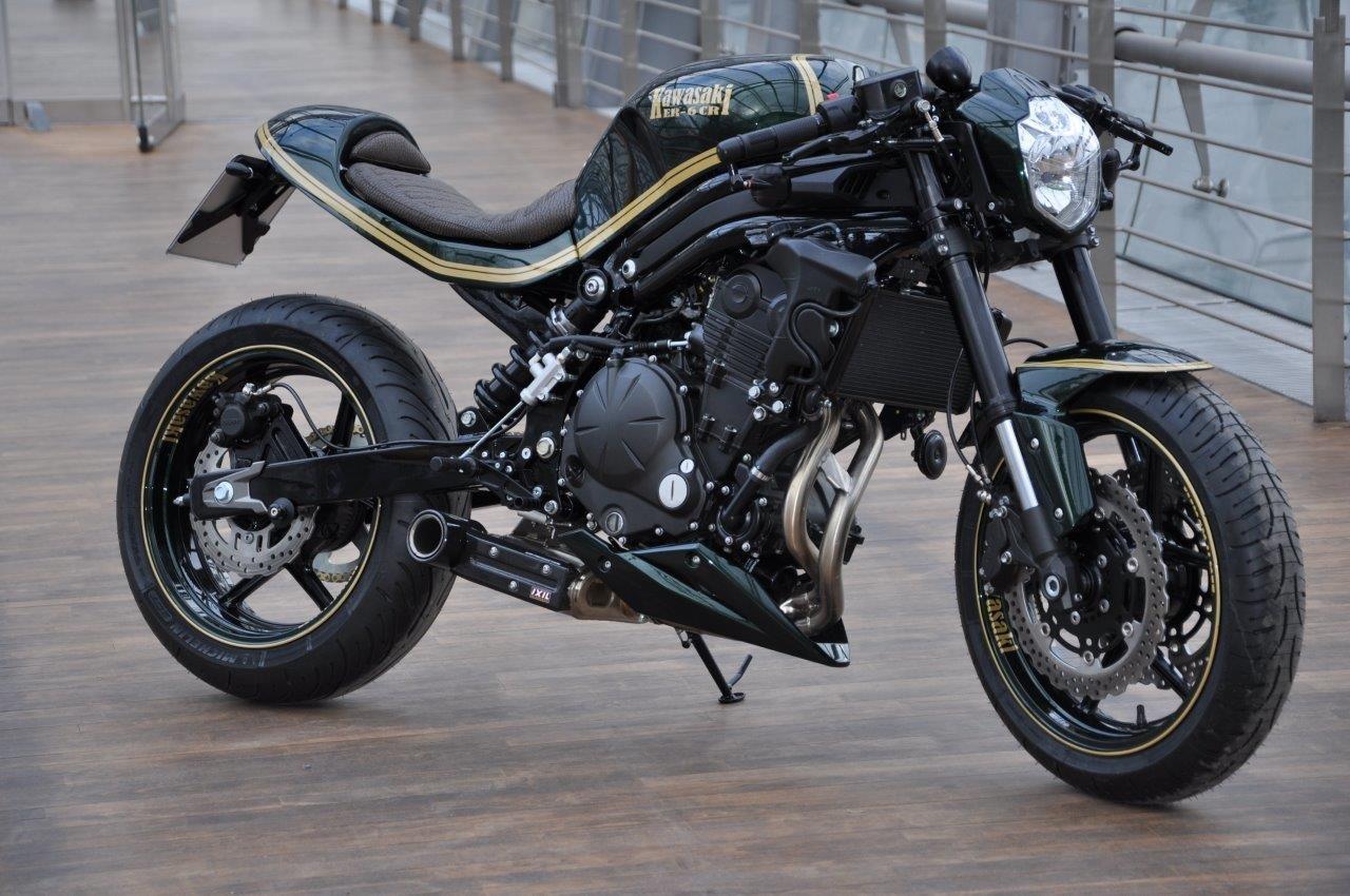 umgebautes motorrad kawasaki er 6n von bkm bikes handels. Black Bedroom Furniture Sets. Home Design Ideas