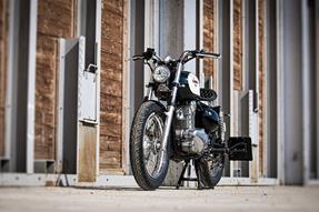 Kawasaki Estrella Umbau anzeigen
