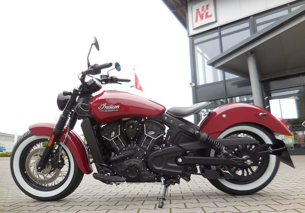 Indian Scout Sixty Stark umgebaut