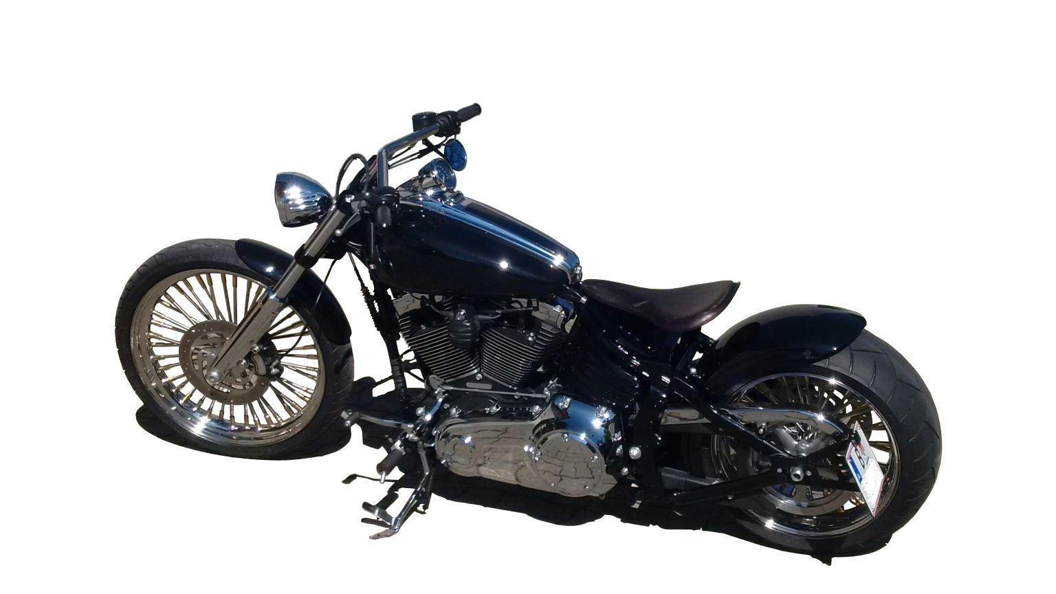 umgebautes motorrad harley davidson softtail rocker c. Black Bedroom Furniture Sets. Home Design Ideas