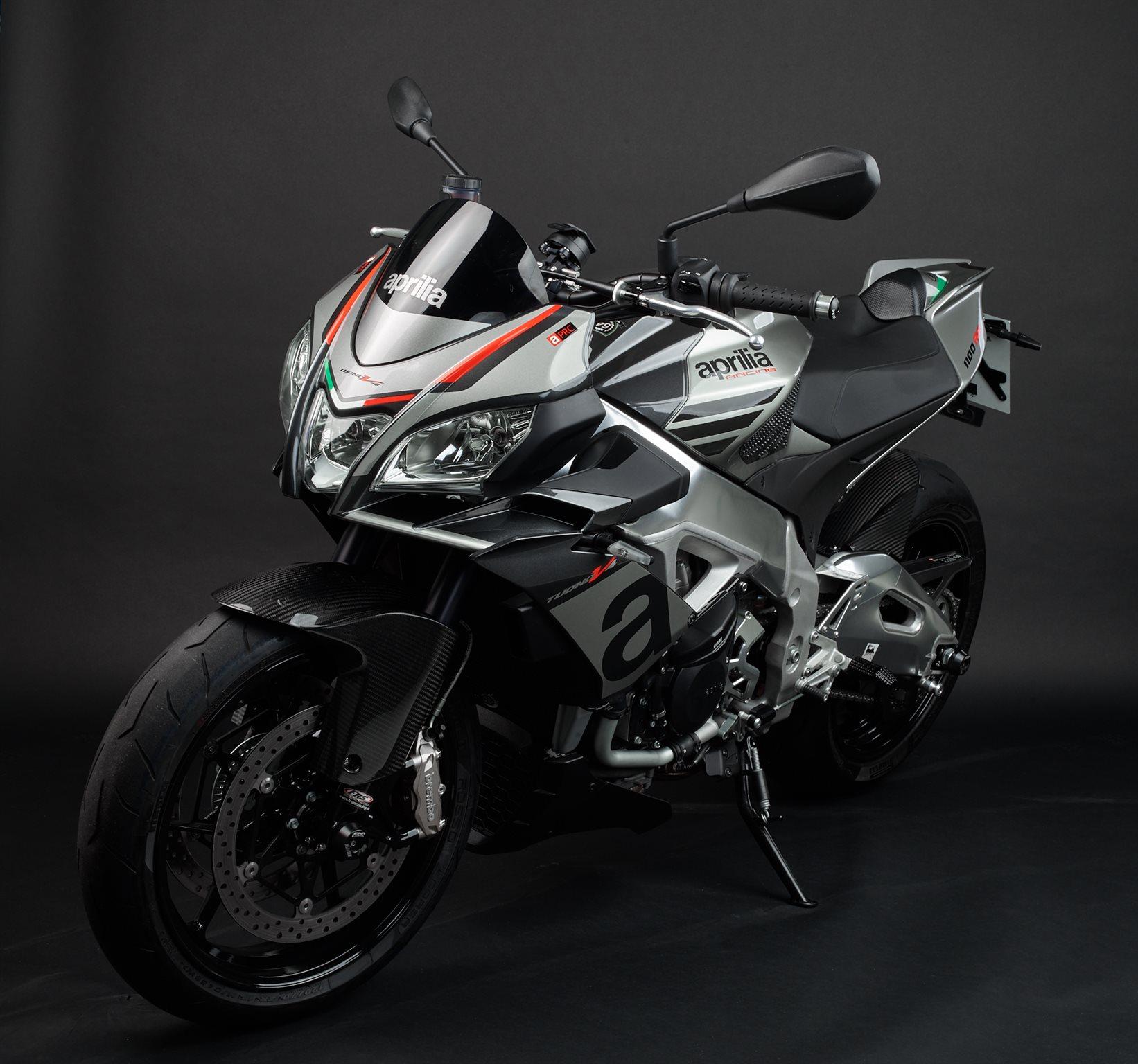 Umgebautes Motorrad Aprilia Tuono V4 1100 RR Von
