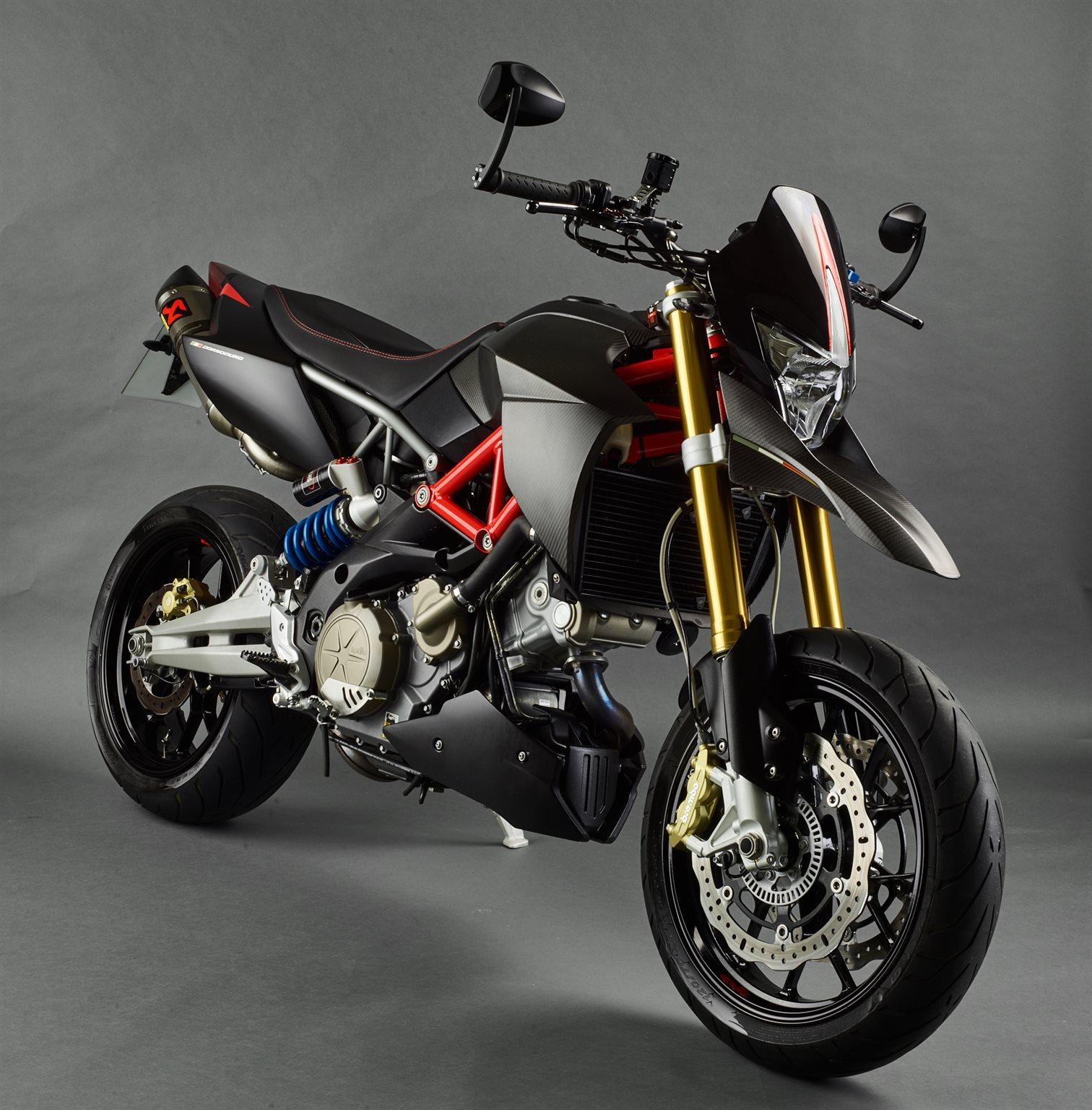 Umgebautes Motorrad Aprilia Dorsoduro 750 Factory Von