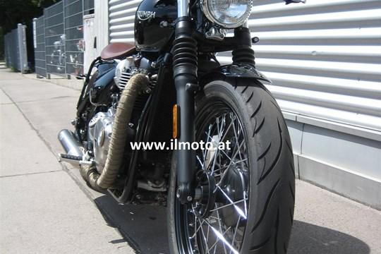 umgebautes motorrad triumph bonneville bobber von il moto gesmbh. Black Bedroom Furniture Sets. Home Design Ideas
