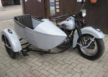 harley davidson wl 750 flathead motorrad umbauten. Black Bedroom Furniture Sets. Home Design Ideas