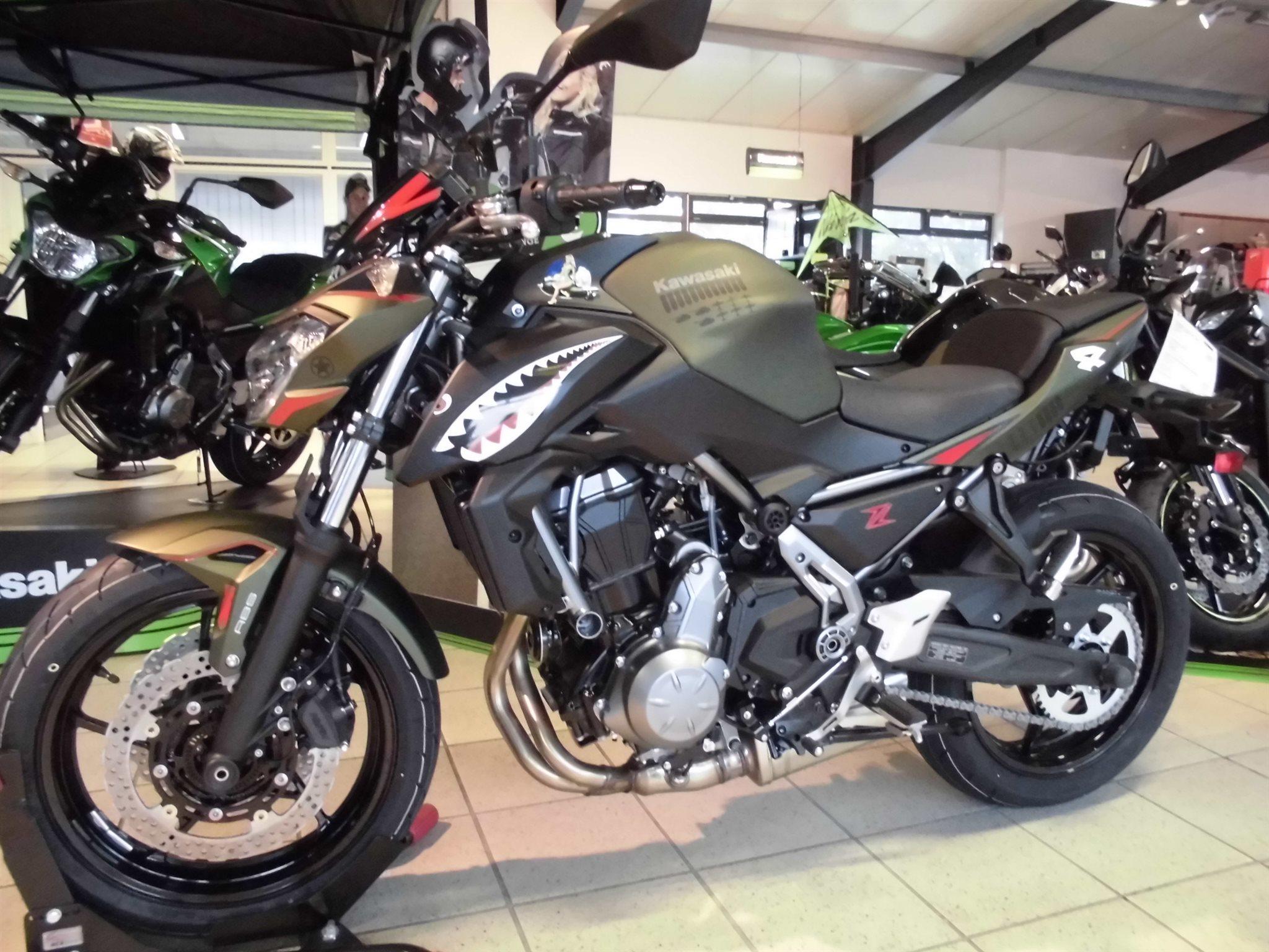 Kawasaki Z 650 Custom Bike