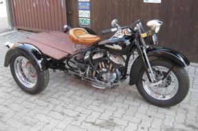 Harley-Davidson Servi-Car Umbau anzeigen