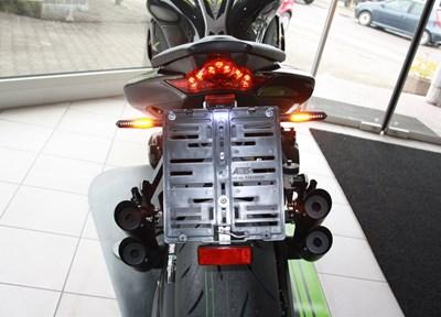 Kawasaki Z1000 R Ein wenig umgebaut