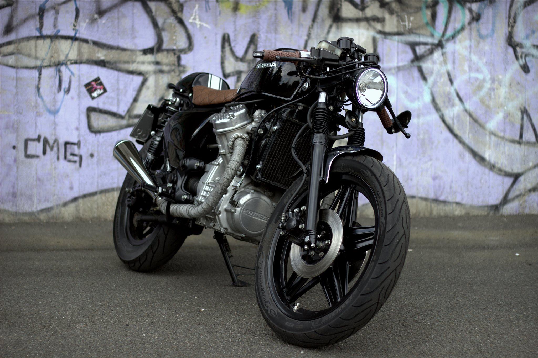 Umgebautes Motorrad Honda CX 500 von ingwio - 1000PS.ch