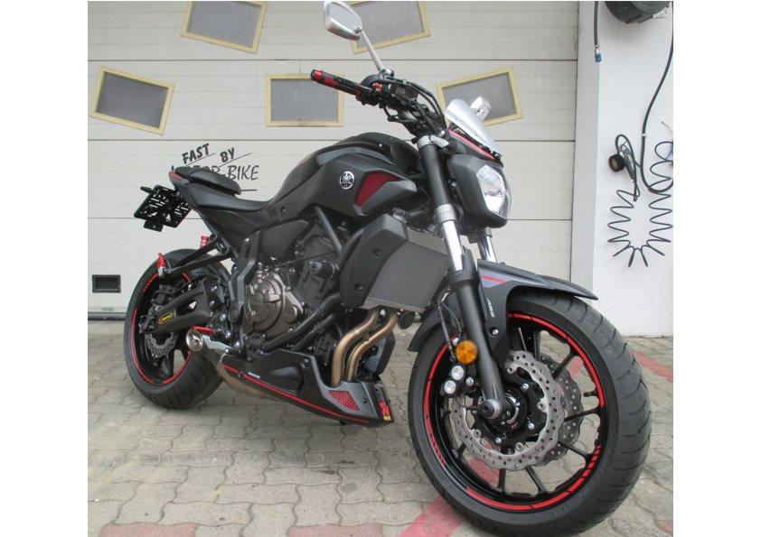 umgebautes motorrad yamaha mt 07 von motor bike. Black Bedroom Furniture Sets. Home Design Ideas