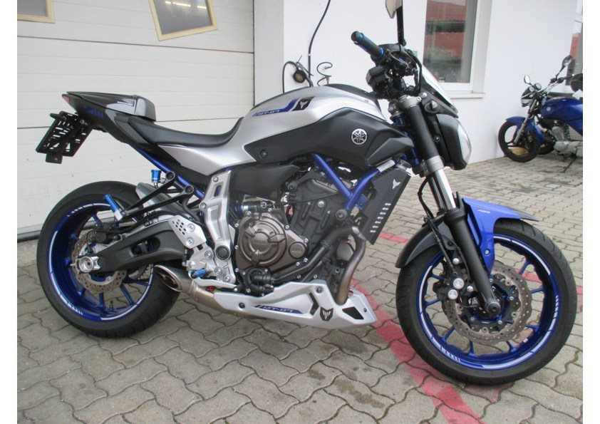 Umgebautes Motorrad Yamaha MT 07 Von Motor Bike