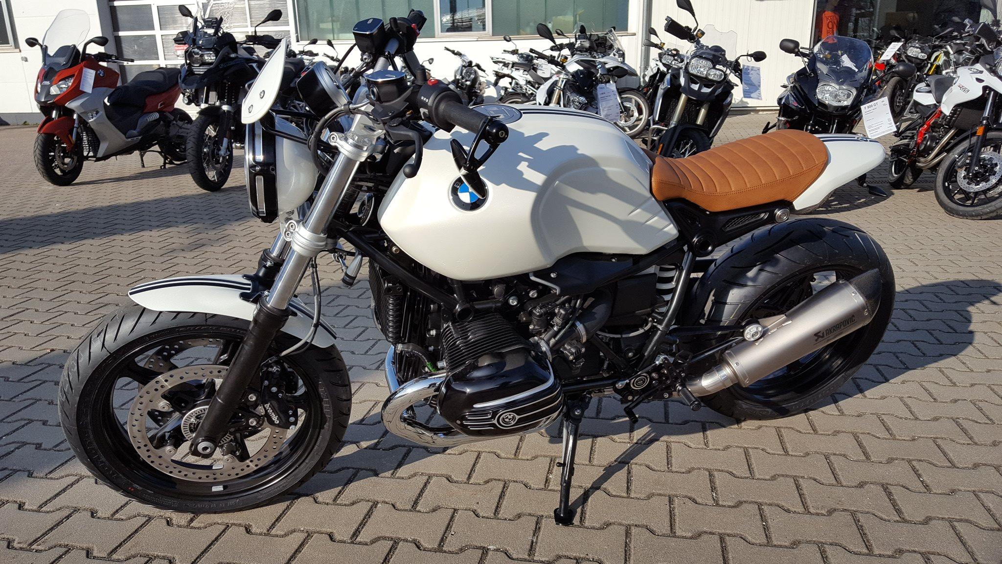 umgebautes motorrad bmw r ninet pure von motorradsport. Black Bedroom Furniture Sets. Home Design Ideas