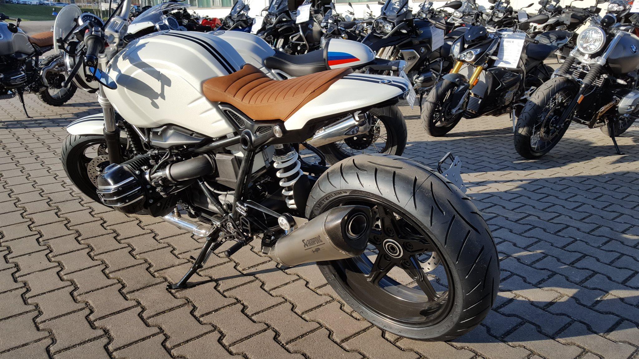 details zum custom bike bmw r ninet pure des h ndlers. Black Bedroom Furniture Sets. Home Design Ideas