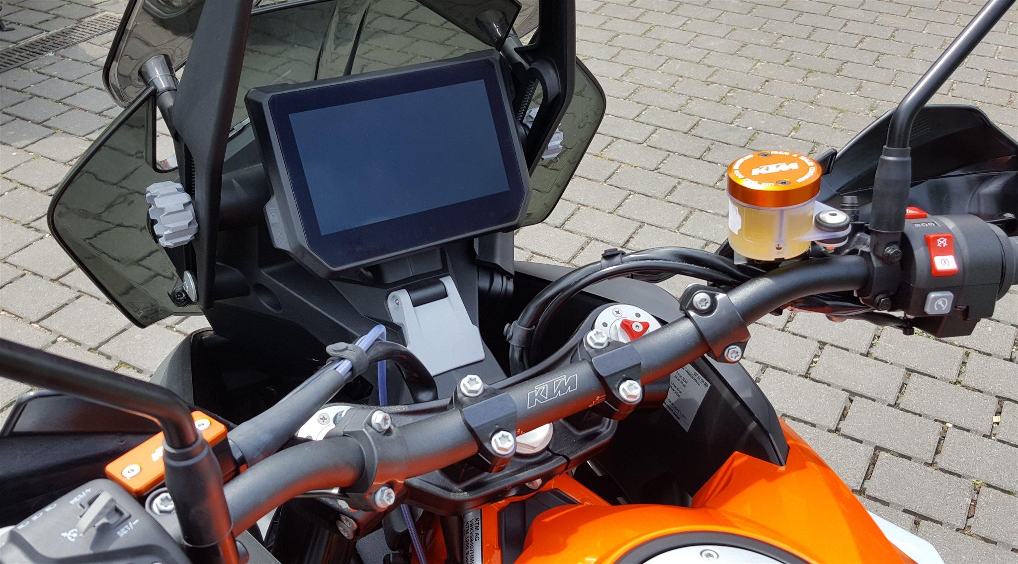 details zum custom bike ktm 1290 super adventure r des. Black Bedroom Furniture Sets. Home Design Ideas