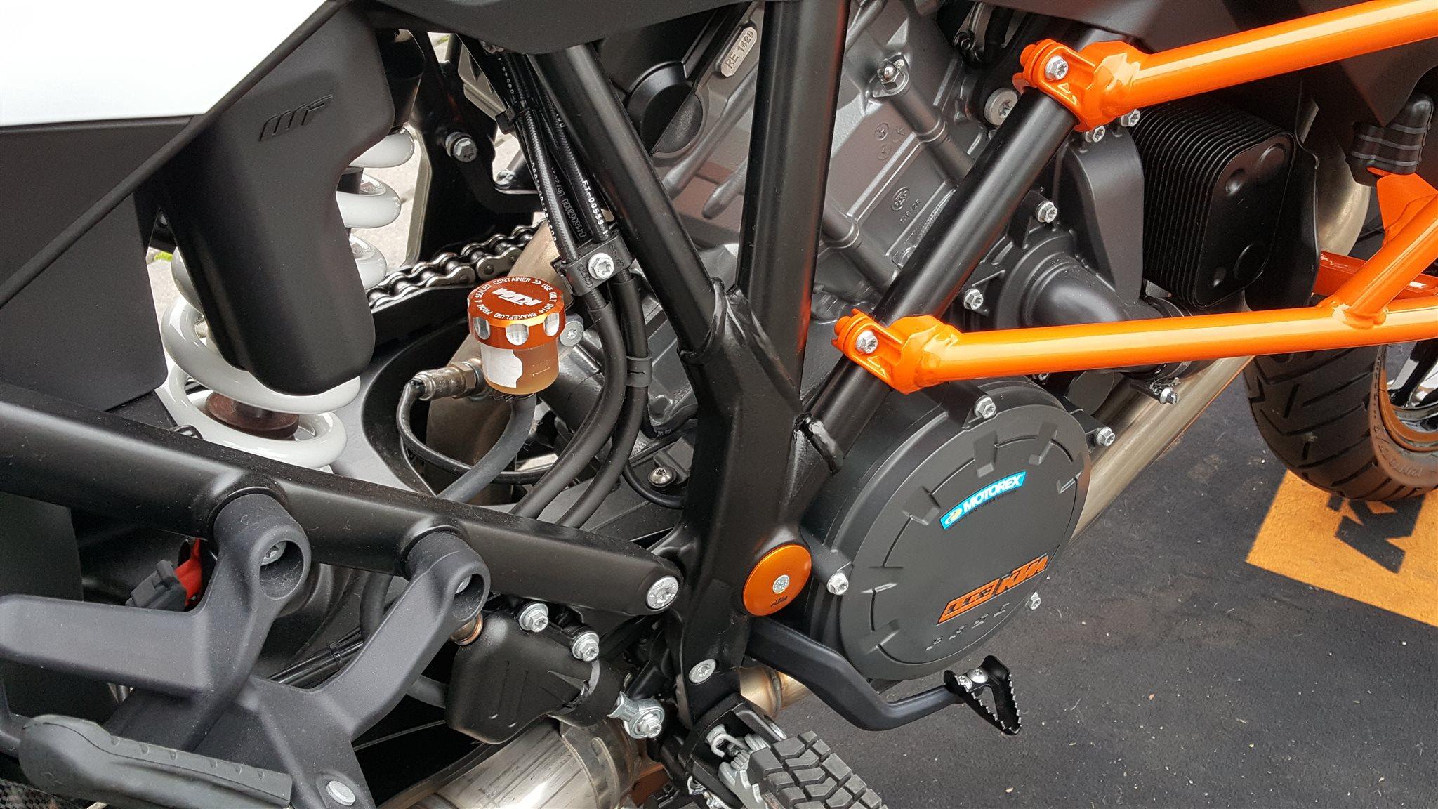 details zum custom bike ktm 1290 super adventure s des. Black Bedroom Furniture Sets. Home Design Ideas