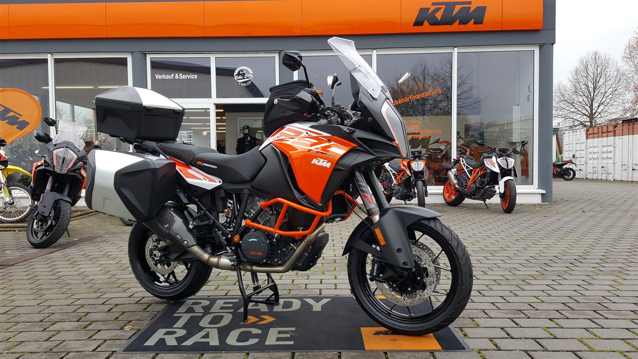 umgebautes motorrad ktm 1290 super adventure s von biker s. Black Bedroom Furniture Sets. Home Design Ideas