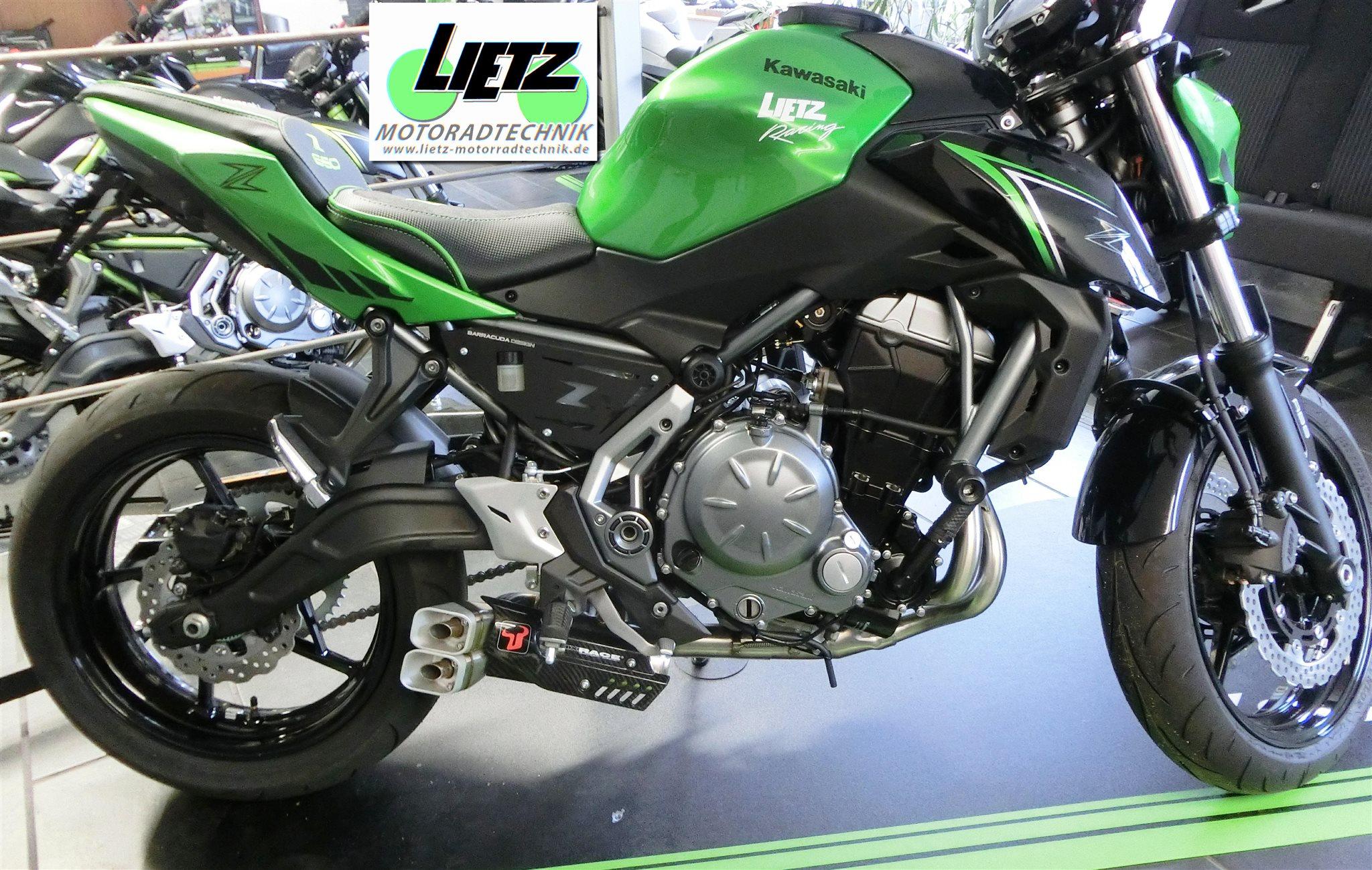 Umgebautes Motorrad Kawasaki Z 650 Von Lietz Motorradtechnik