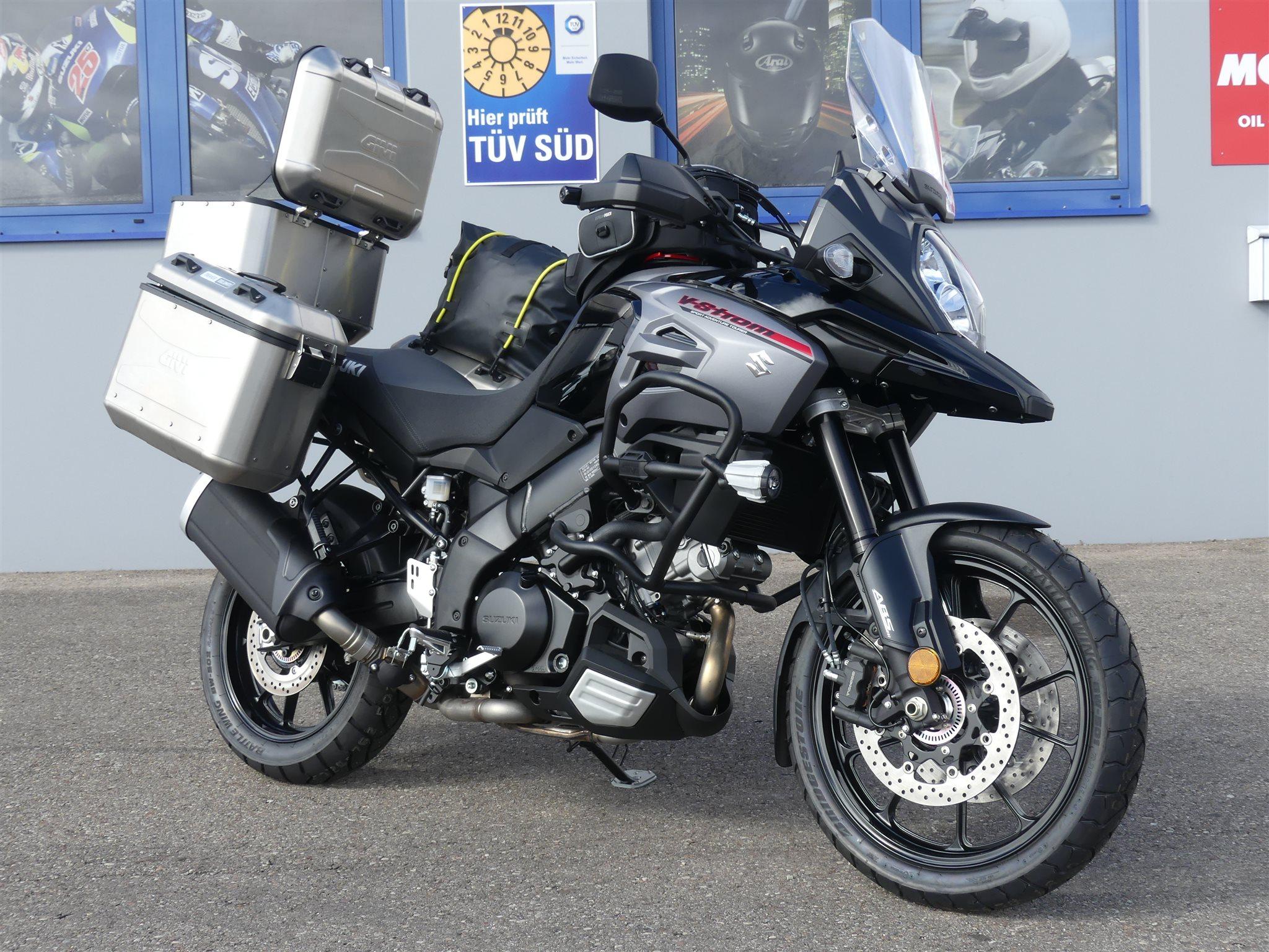 umgebautes motorrad suzuki v strom 1000 von biker stable gmbh co kg. Black Bedroom Furniture Sets. Home Design Ideas