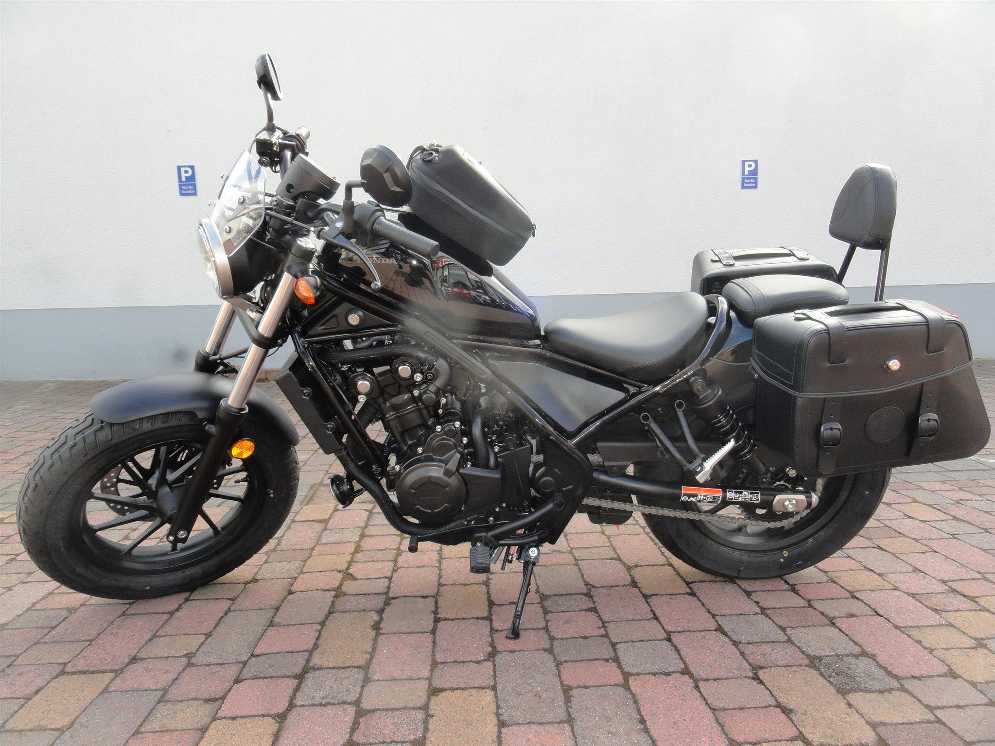 umgebautes motorrad honda cmx500 rebel von motorradtechnik. Black Bedroom Furniture Sets. Home Design Ideas