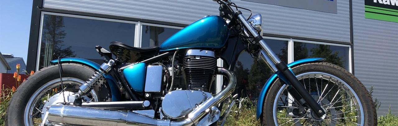 umgebautes motorrad suzuki savage ls 650 von motorrad. Black Bedroom Furniture Sets. Home Design Ideas