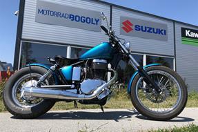 Suzuki Savage LS 650 Umbau anzeigen