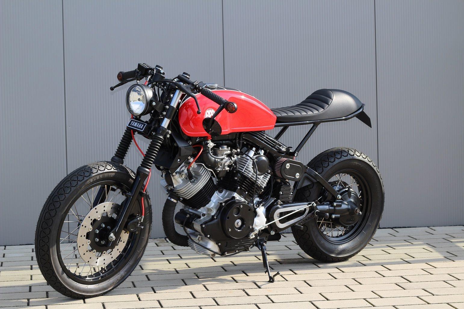 umgebautes motorrad yamaha xv 750 virago von bpr bikes e k. Black Bedroom Furniture Sets. Home Design Ideas