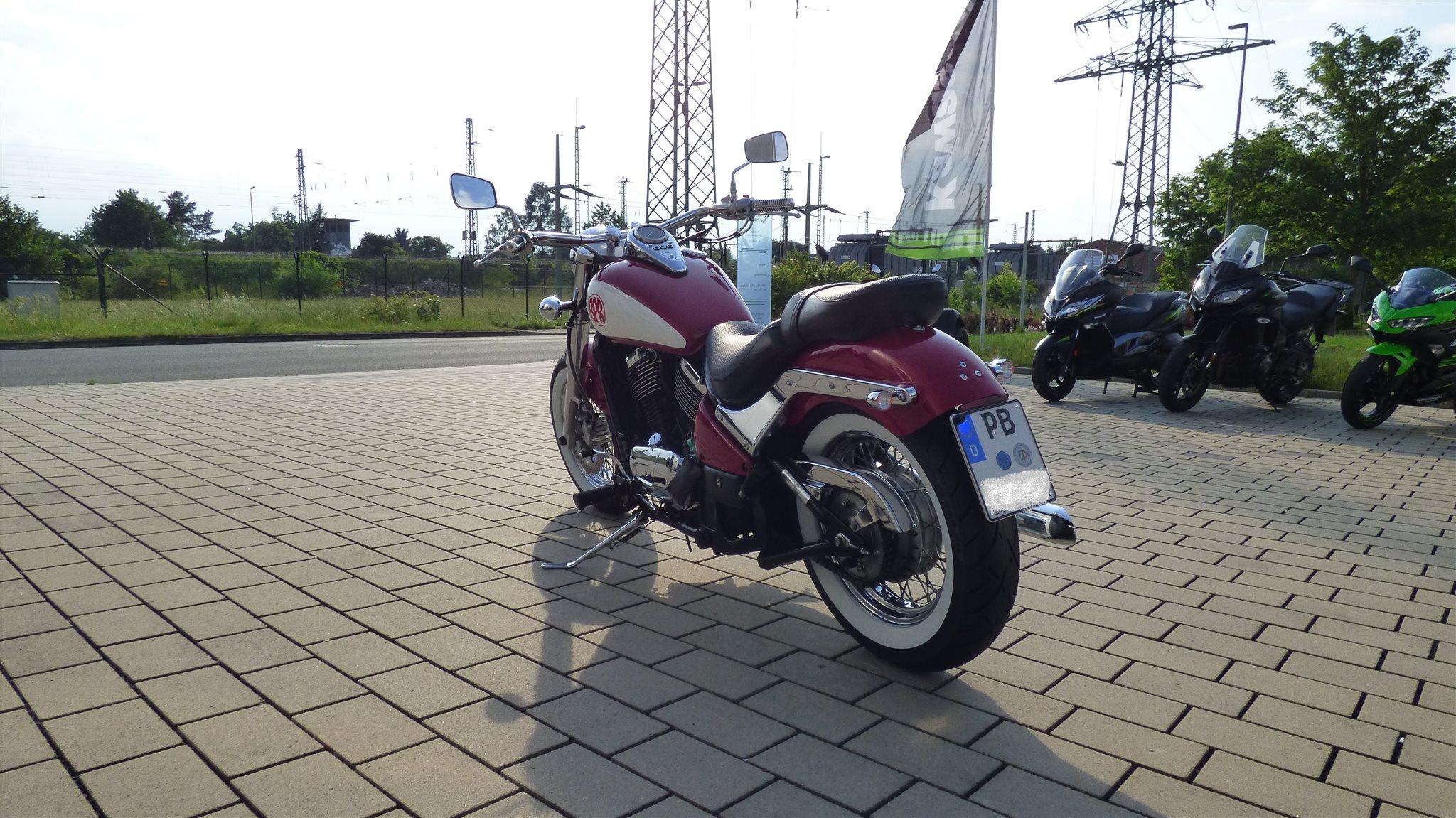 umgebautes motorrad kawasaki vn 800 classic von bpr bikes. Black Bedroom Furniture Sets. Home Design Ideas