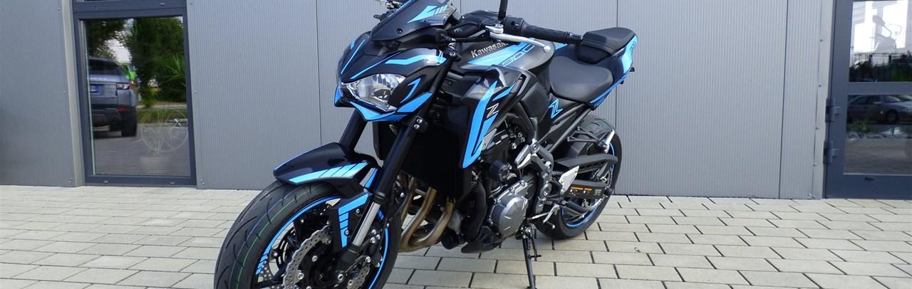 umgebautes motorrad kawasaki z900 von bpr bikes e k. Black Bedroom Furniture Sets. Home Design Ideas
