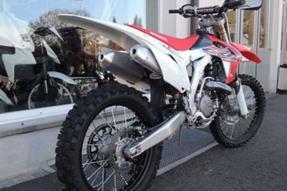 Honda CRF450R Umbau anzeigen