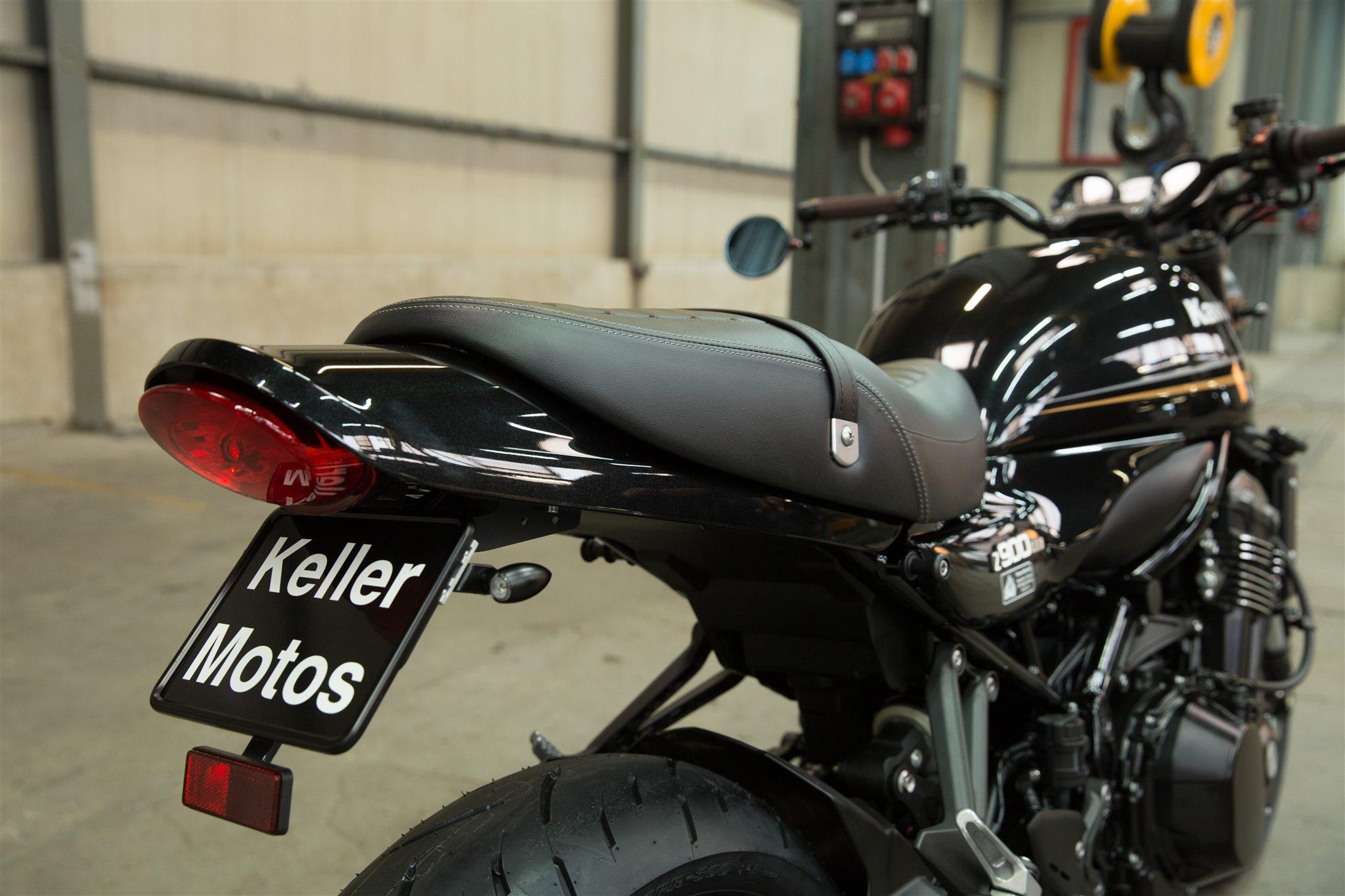 Umgebautes Motorrad Kawasaki Z900RS Von Keller Motos